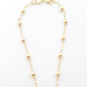Bratara tip rosariu placata cu aur Alaska6