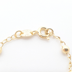 Bratara tip rosariu placata cu aur Alaska7