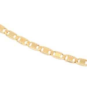 Bratara unisex placata cu aur 18-23 cm Caffe2