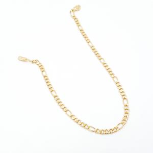 Bratara unisex 22 cm placata cu aur Flavio0