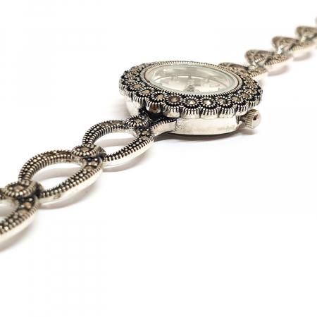 Ceas din argint masiv Suave5
