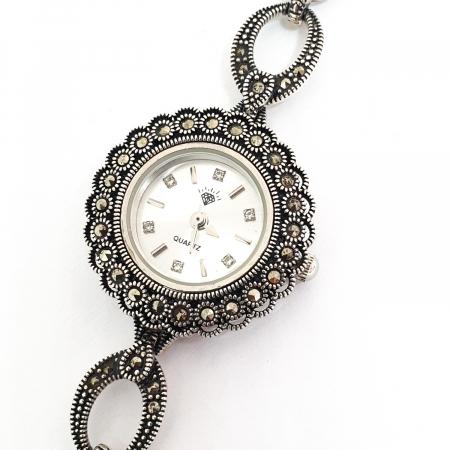 Ceas din argint masiv Suave1