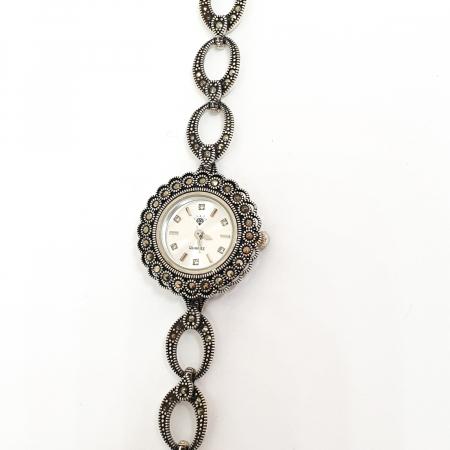 Ceas din argint masiv Suave3
