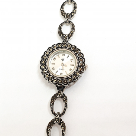 Ceas din argint masiv Suave13
