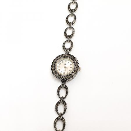 Ceas din argint masiv Suave12