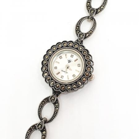 Ceas din argint masiv Suave8