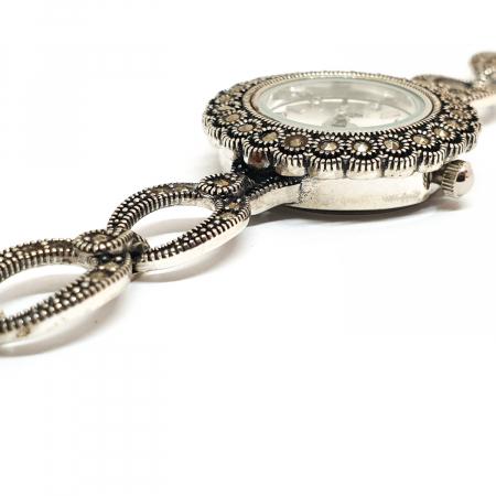 Ceas din argint masiv Suave9
