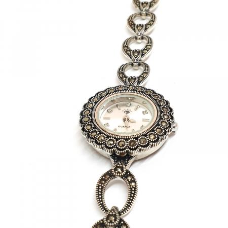 Ceas din argint masiv Suave7