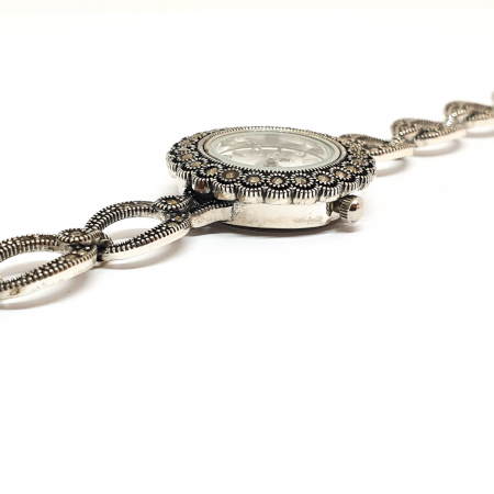 Ceas din argint masiv Suave6
