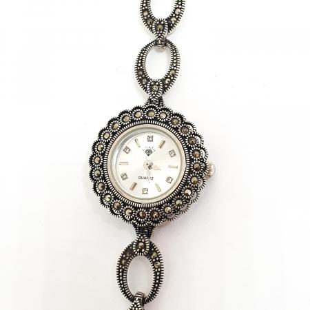 Ceas din argint masiv Suave4