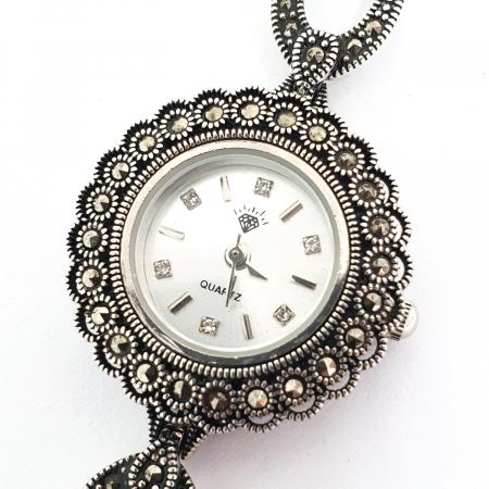 Ceas din argint masiv Suave2