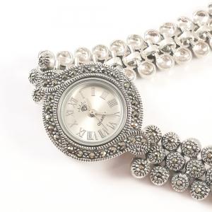 Ceas din argint masiv Lila by SaraTremo1
