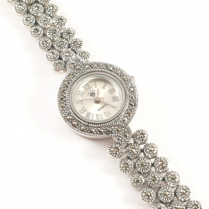 Ceas din argint masiv Lila by SaraTremo3