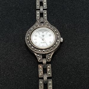 Ceas din argint masiv Maitreyi by SaraTremo1