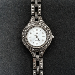 Ceas din argint masiv Maitreyi by SaraTremo0