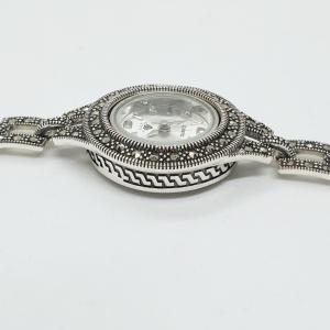 Ceas din argint masiv Maitreyi by SaraTremo6