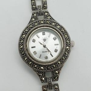 Ceas din argint masiv Maitreyi by SaraTremo4