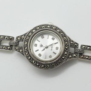 Ceas din argint masiv Maitreyi by SaraTremo7