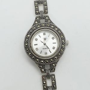 Ceas din argint masiv Maitreyi by SaraTremo3