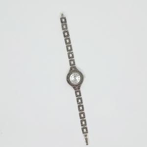 Ceas din argint masiv Maitreyi by SaraTremo9