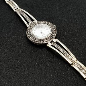 Ceas din argint masiv Perla by SaraTremo1