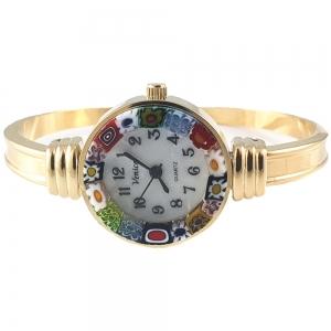 Ceas Venice Luxury din Sticla de Murano1