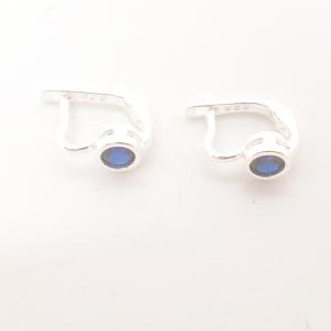 Cercei din argint Royal Blue1