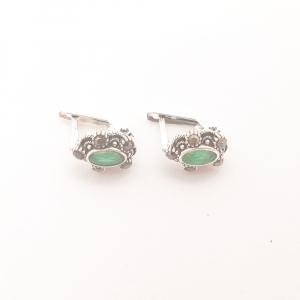 Cercei din argint Sapphire1