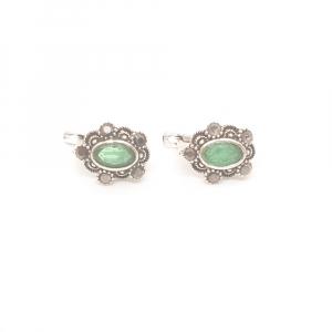 Cercei din argint Sapphire0