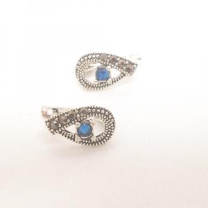 Cercei din argint Blue Eyes3