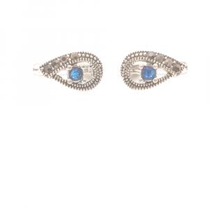 Cercei din argint Blue Eyes0