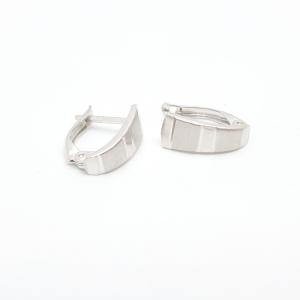 Cercei din argint Blanca2