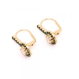 Cercei placati cu aur Soft2