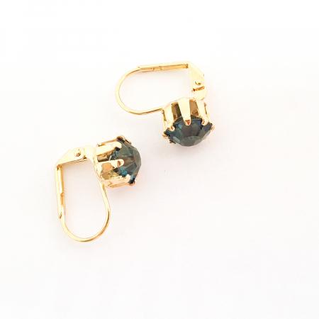 Cercei placati cu aur Sensa2