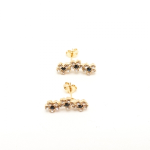 Cercei placati cu aur Deco3