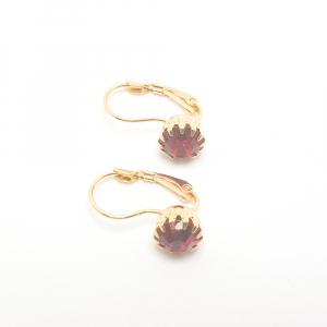 Cercei placati cu aur Erima2