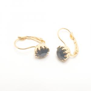 Cercei placati cu aur Olenna1