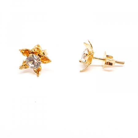 Cercei mici placati cu aur Urbika2