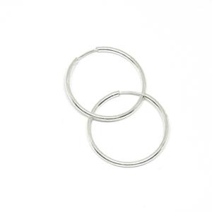 Cercei rotunzi din argint 2 cm Demos [1]