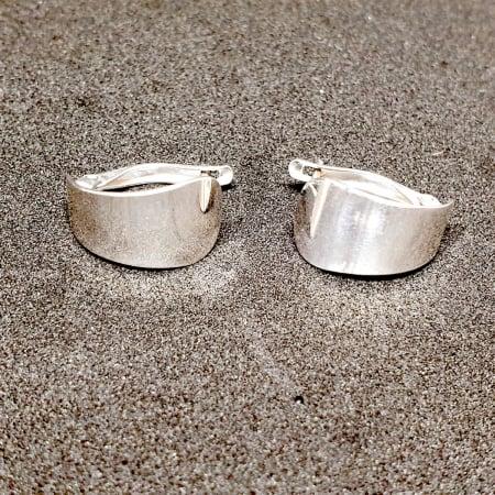 Cercei rotunzi din argint 1.5 cm Gatta [0]