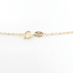 Colier cu inimioara placat cu aur 52 cm Cheeky4