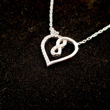 Colier din argint My Great Love [3]