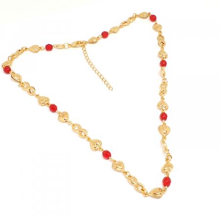 Colier placat cu aur Nomine del Rosa4