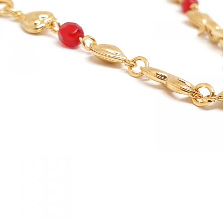 Colier placat cu aur Nomine del Rosa5