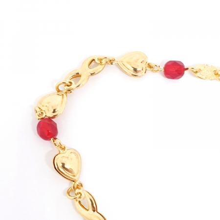 Colier placat cu aur Nomine del Rosa2