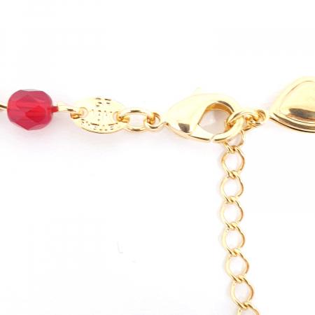 Colier placat cu aur Nomine del Rosa3