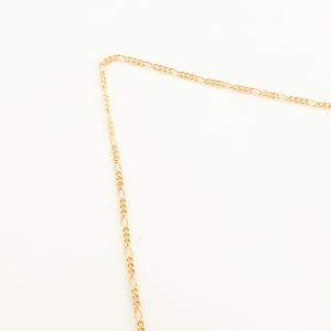 Colier placat cu aur Abundence3