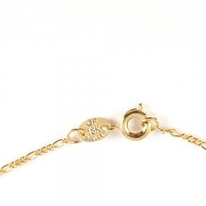 Colier placat cu aur Shonda5
