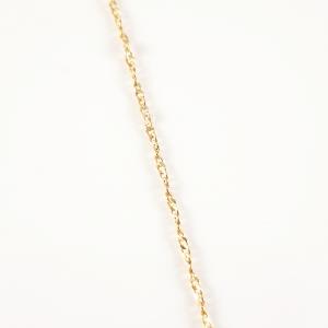 Colier placat cu aur Marcy5