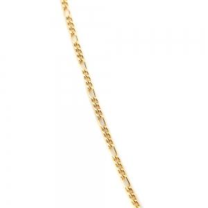 Colier placat cu aur Casey4